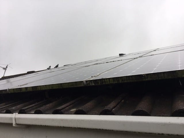 Bristol Solar Panel Image Before Installation
